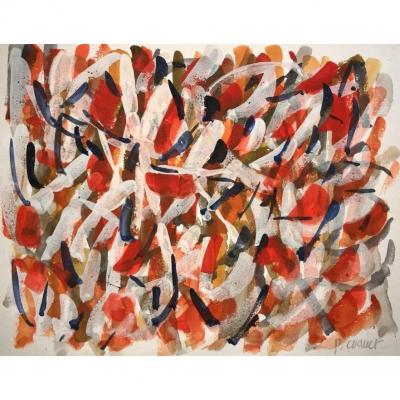 Pierre Coquet - Abstract Composition (a28)