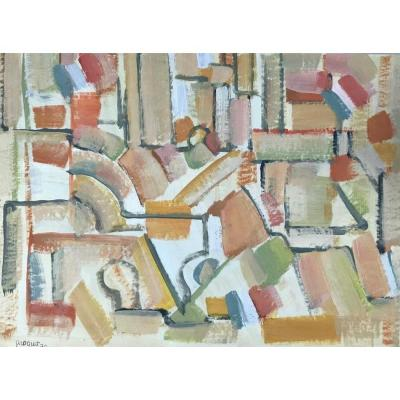 Pierre Coquet - Abstract Composition (a72)