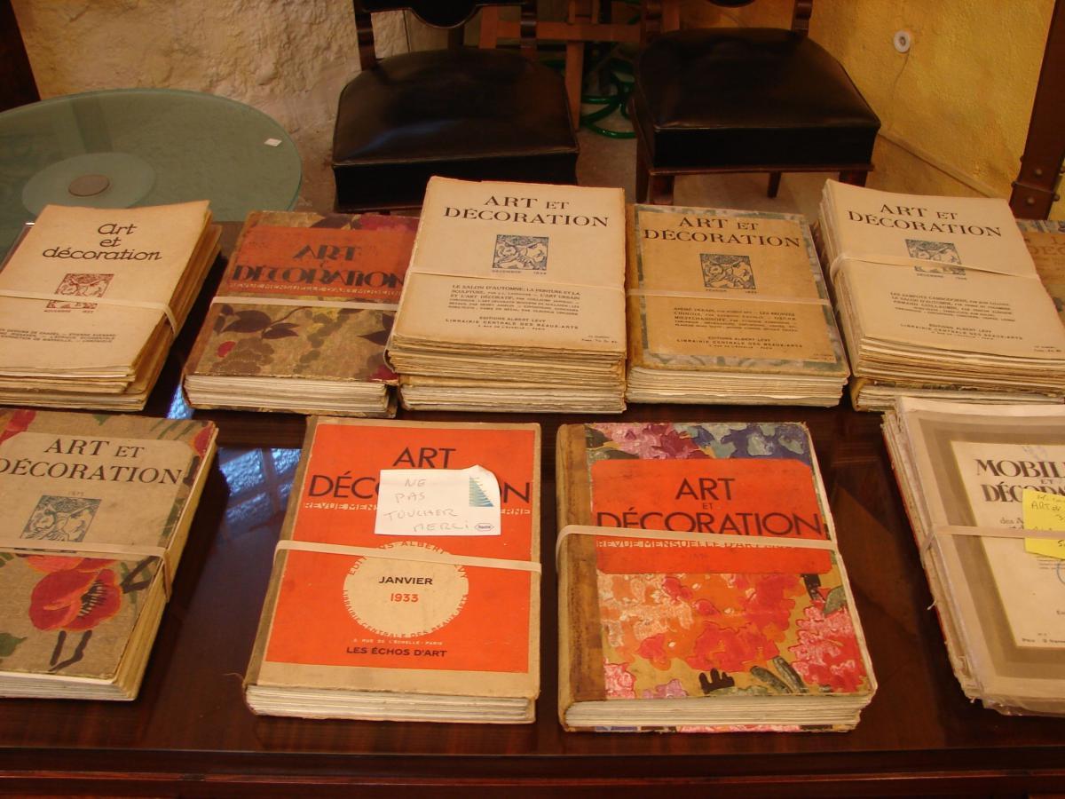 Art Et Décoration 1922 à 1934 Années Completes Documentation  Art Deco