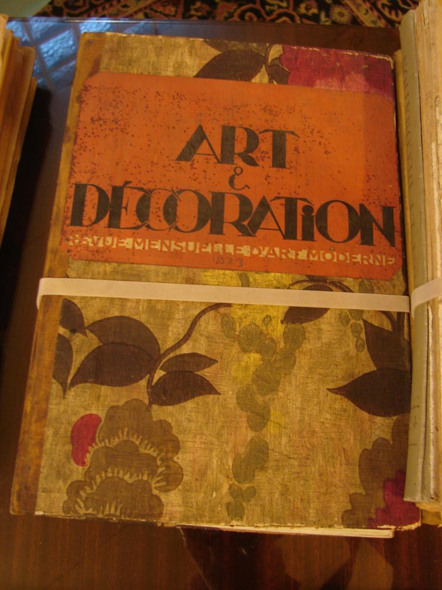 Art Et Décoration 1922 à 1934 Années Completes Documentation  Art Deco-photo-3