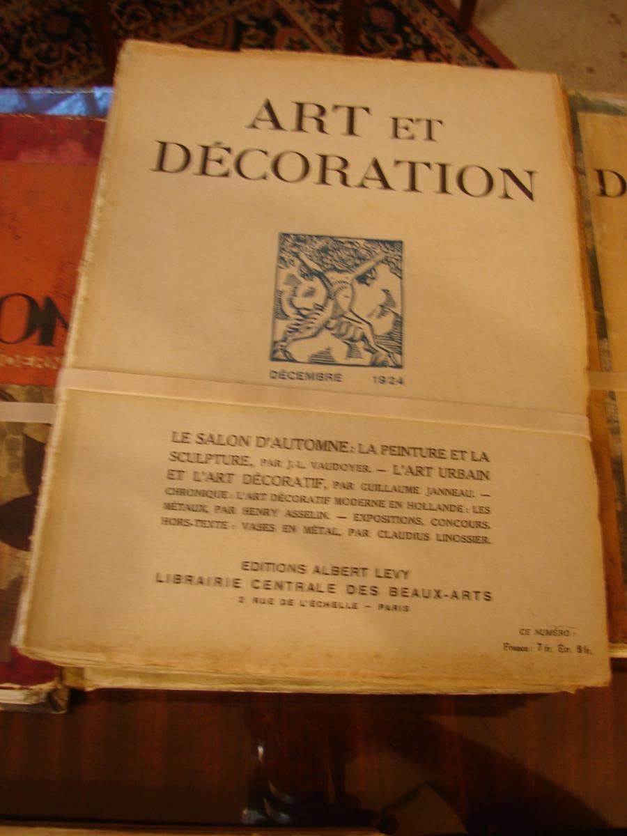 Art Et Décoration 1922 à 1934 Années Completes Documentation  Art Deco-photo-4