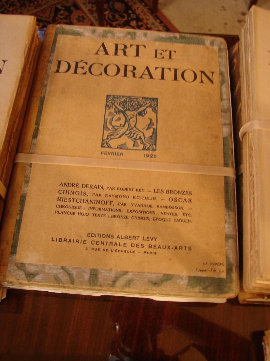 Art Et Décoration 1922 à 1934 Années Completes Documentation  Art Deco-photo-1