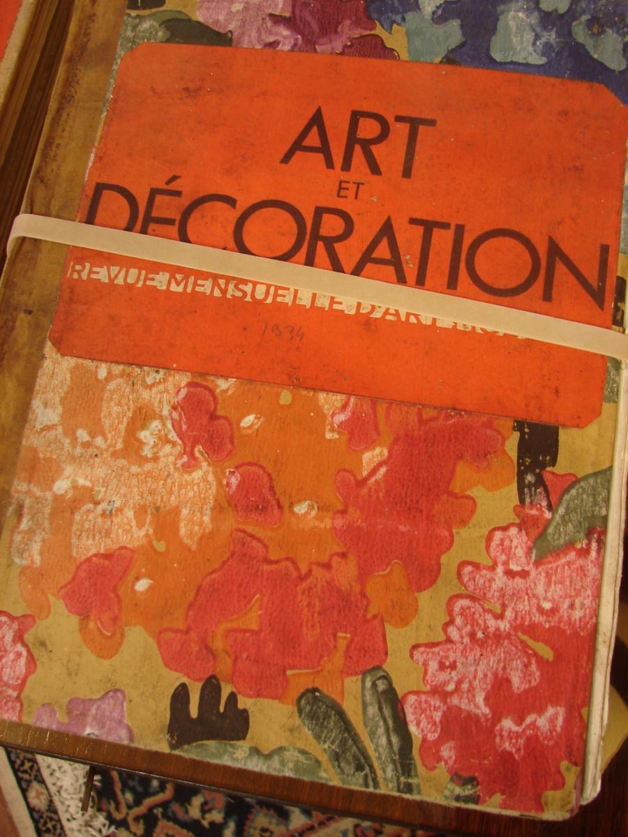 Art Et Décoration 1922 à 1934 Années Completes Documentation  Art Deco-photo-5
