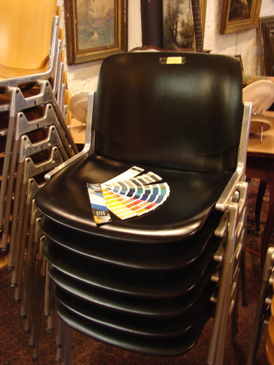 Nombreuses Chaises Design 1970/80 Qualité Top-photo-3