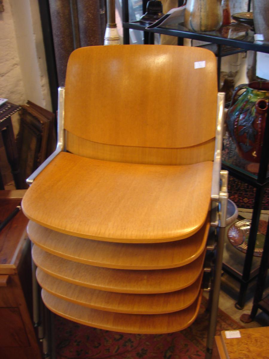 Nombreuses Chaises Design 1970/80 Qualité Top-photo-2