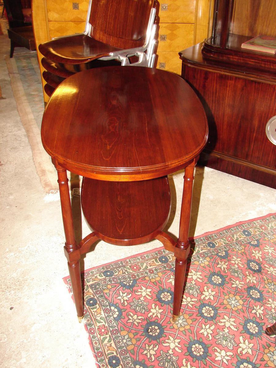 Petite Table Ovale 1925 Majorelle Nancy estampillé-photo-2