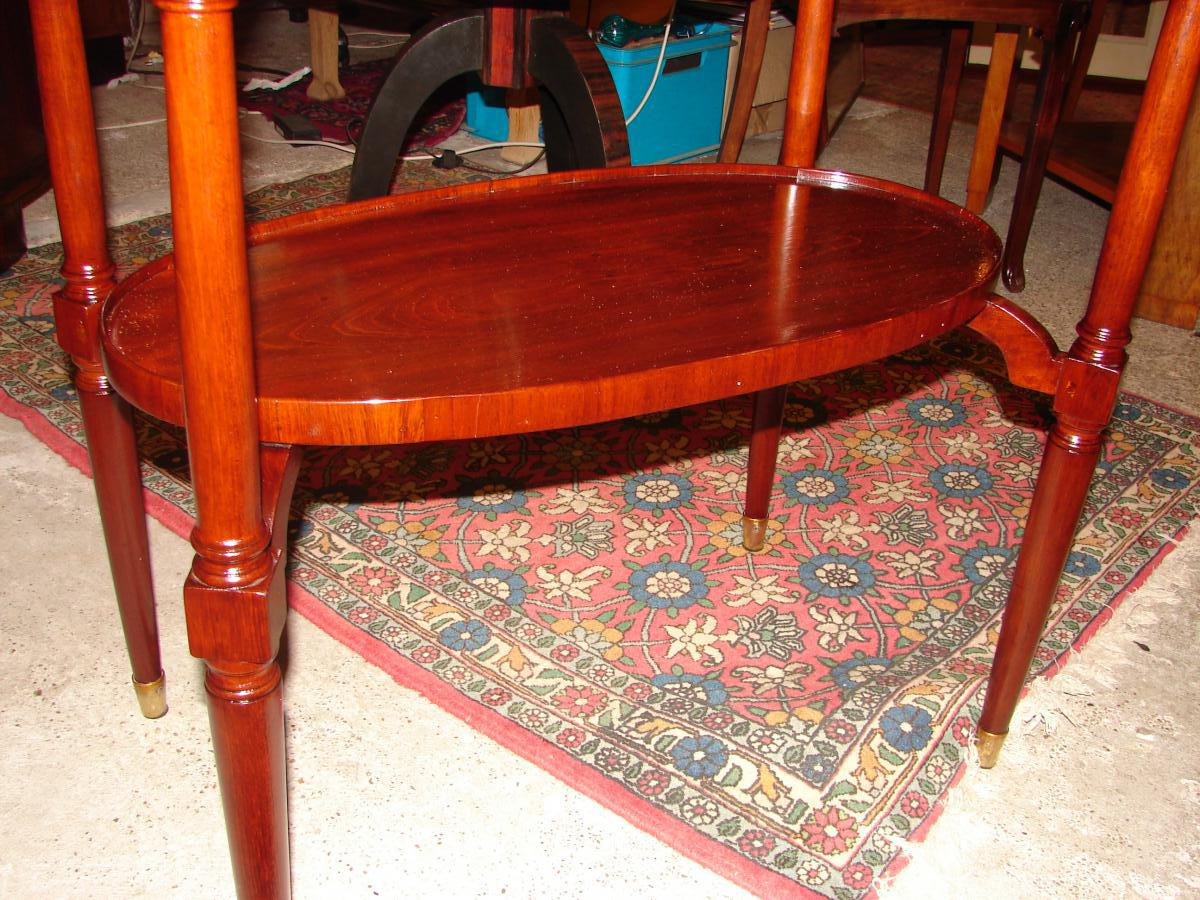 Petite Table Ovale 1925 Majorelle Nancy estampillé-photo-3