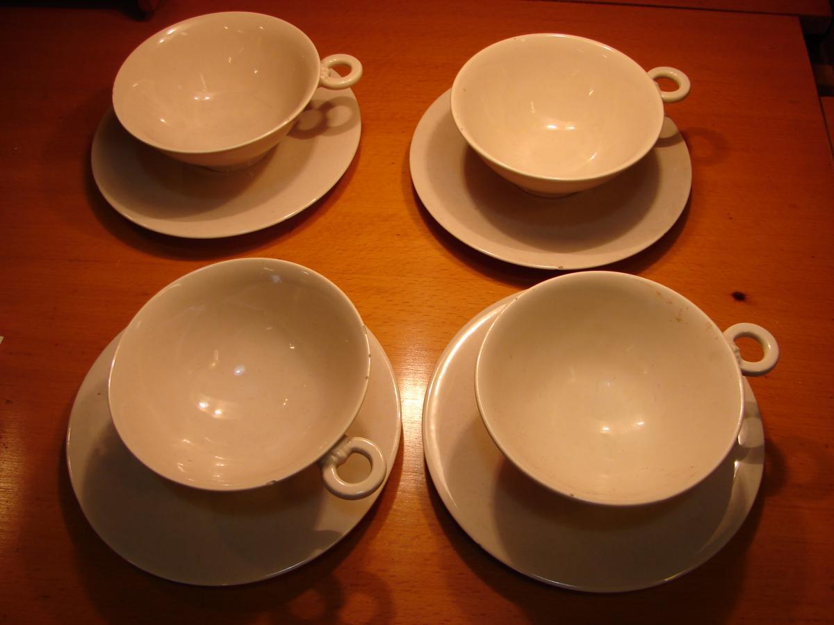 Galerie Rouard 4 Tasses En Ceramique-photo-3