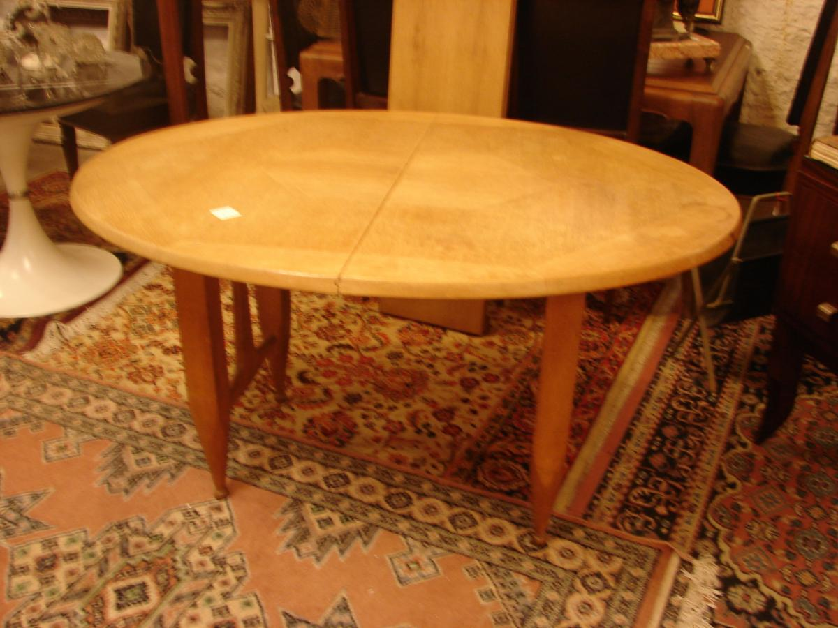 Table De Salle à Manger Avec Rallonges  Guillerme Et Chambron Chêne-photo-2
