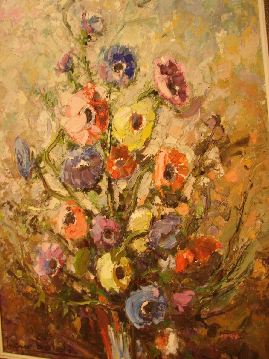 Pierre Baldi  Bouquet De Fleurs