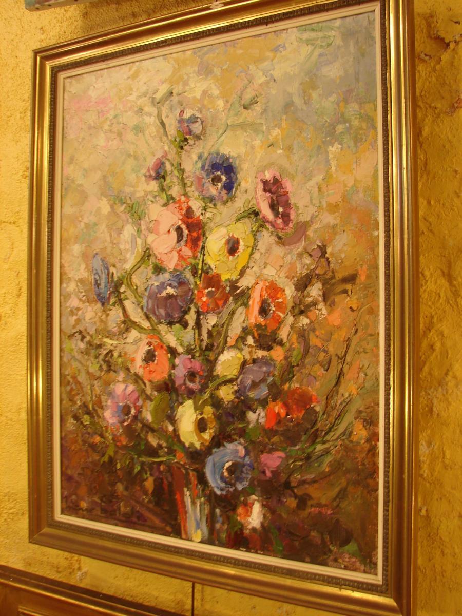 Pierre Baldi  Bouquet De Fleurs-photo-2