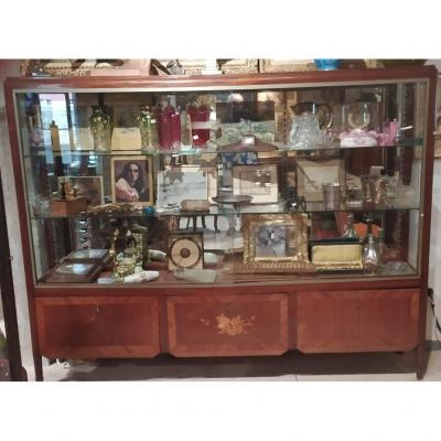 Grande Vitrine De Collectionneur 1900