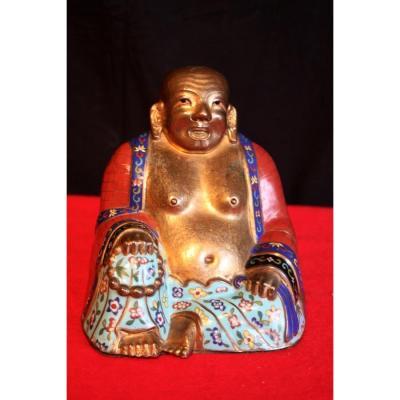 Statuette de Putaï assis de la Chine