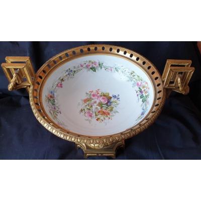 Coupe en porcelaine de Sèvres ?