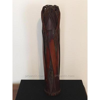 Bambou- Important Vase - Art Japonais