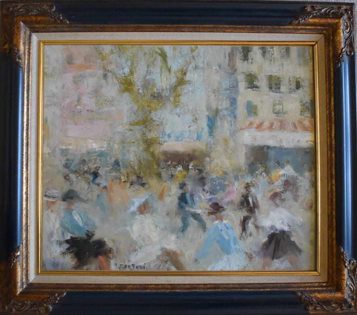 Jacques Bartoli (1920-1995) Place Puget Toulon