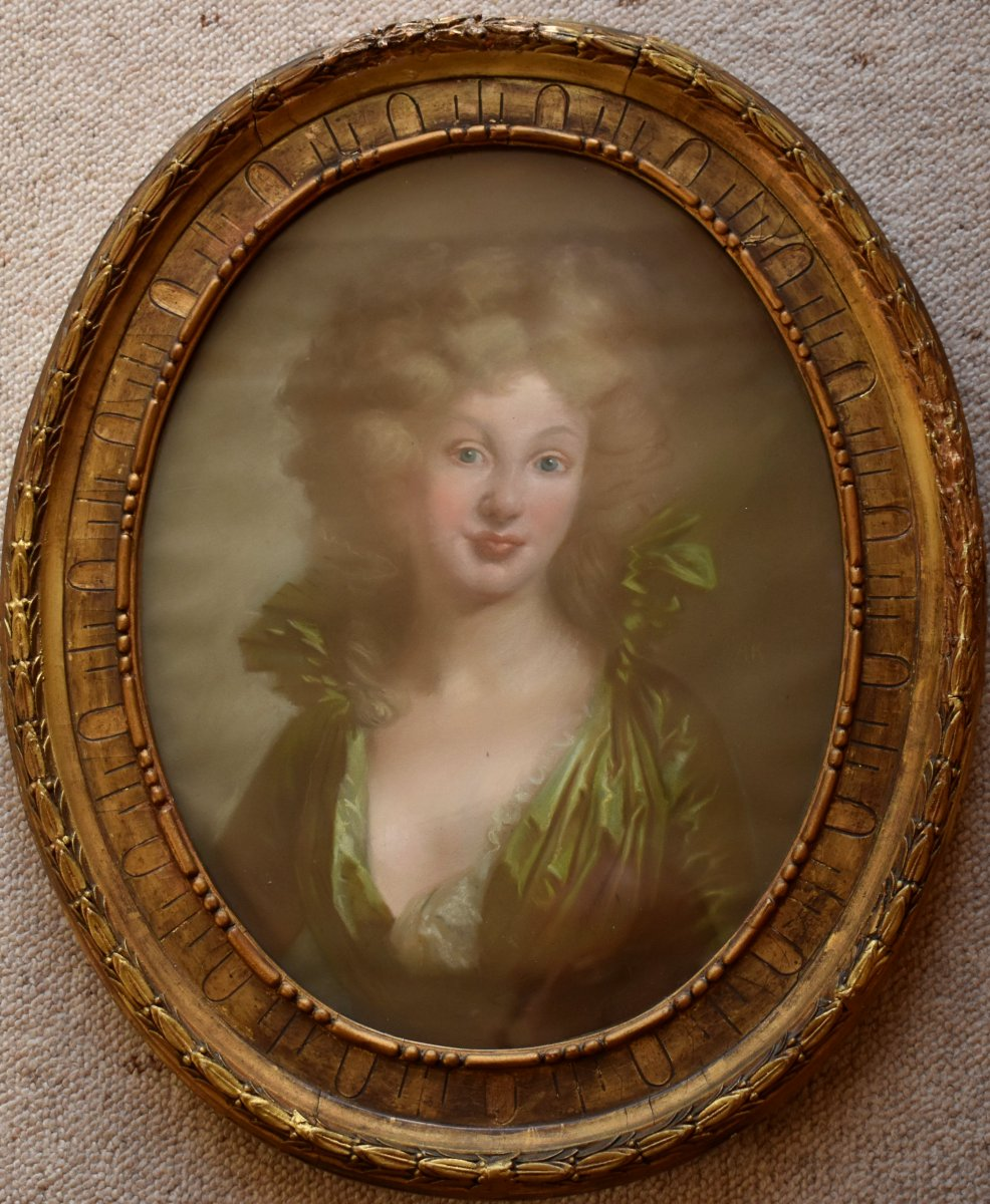 Emma Hamilton Manner Of Angelica Kauffman (1741-1807)