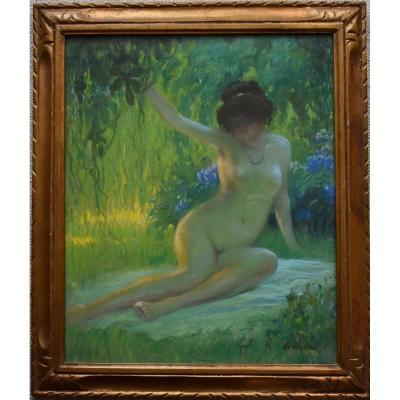 Jules René Hervé (1887-1981) Nude  C1930 Pastel
