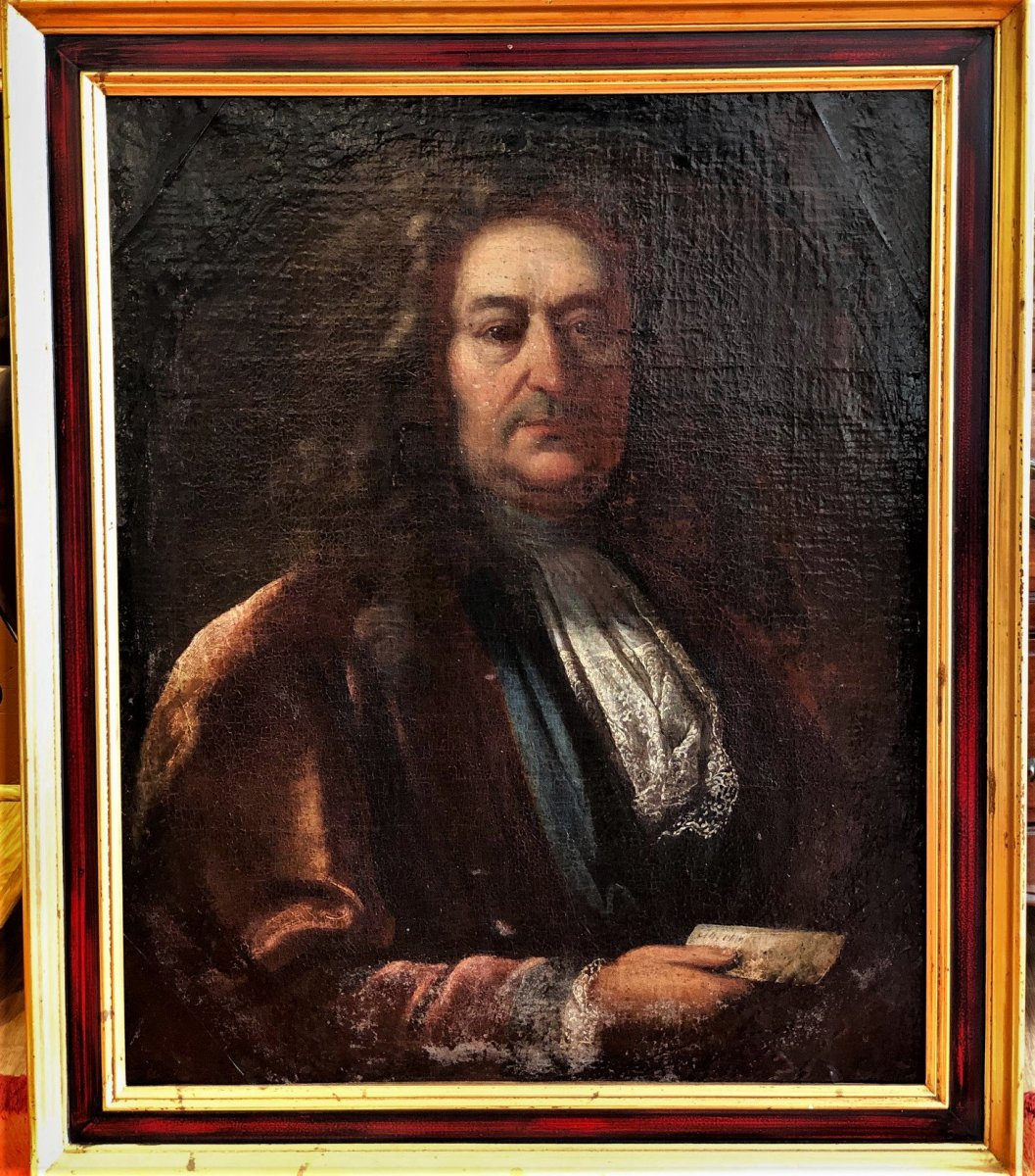 Portrait d'Homme époque Louis XIV