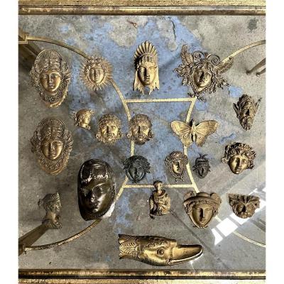 Ensemble De Bronzes Empire
