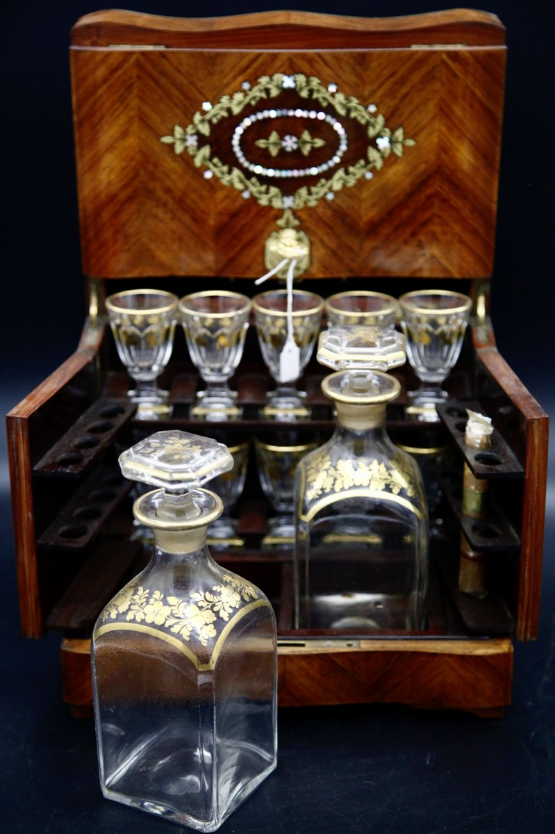 Small Napoleon III Liquor Cellar-photo-1