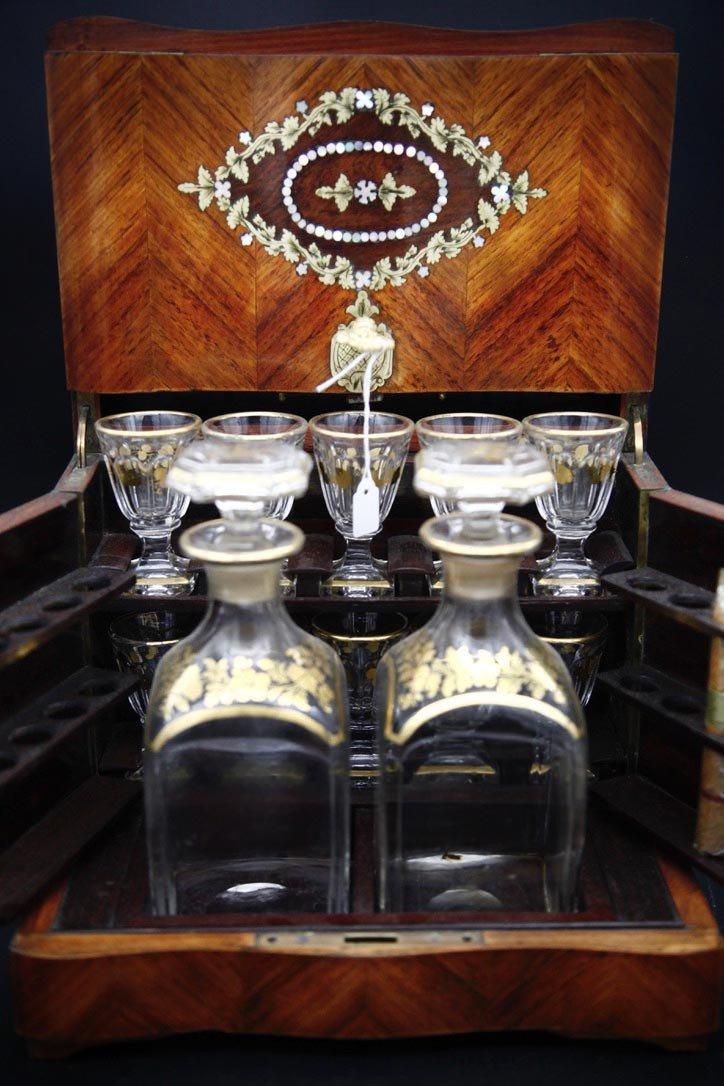 Small Napoleon III Liquor Cellar