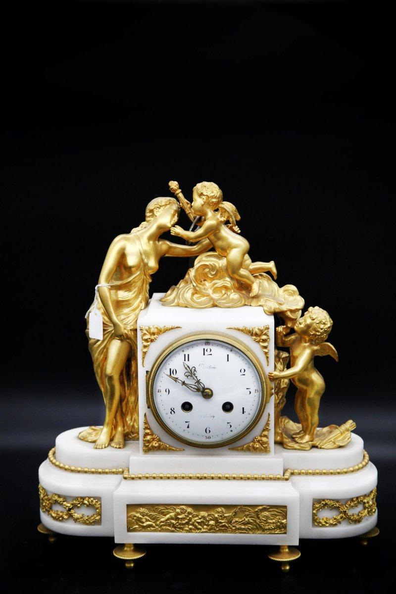 Pendule Napoléon III - Venus Aux Anges