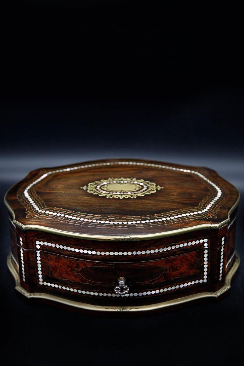 Coffret Boite A Bijoux Napoléon III-photo-2