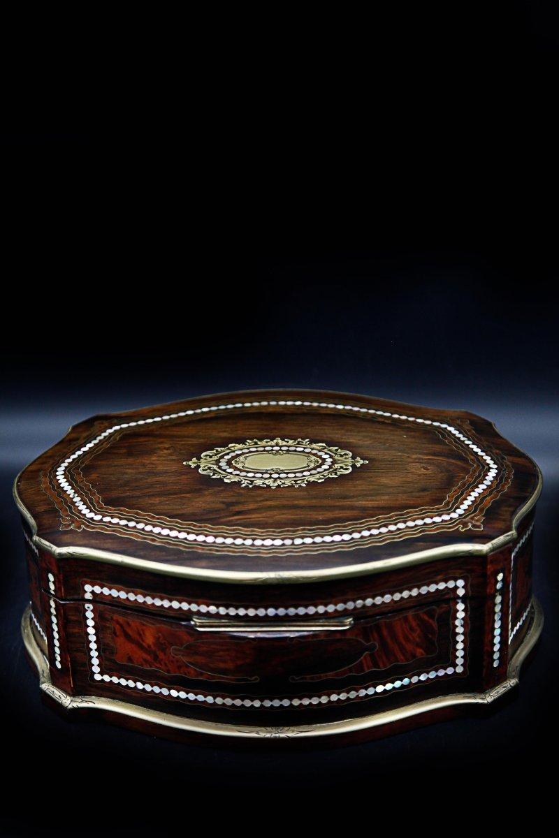 Coffret Boite A Bijoux Napoléon III-photo-3