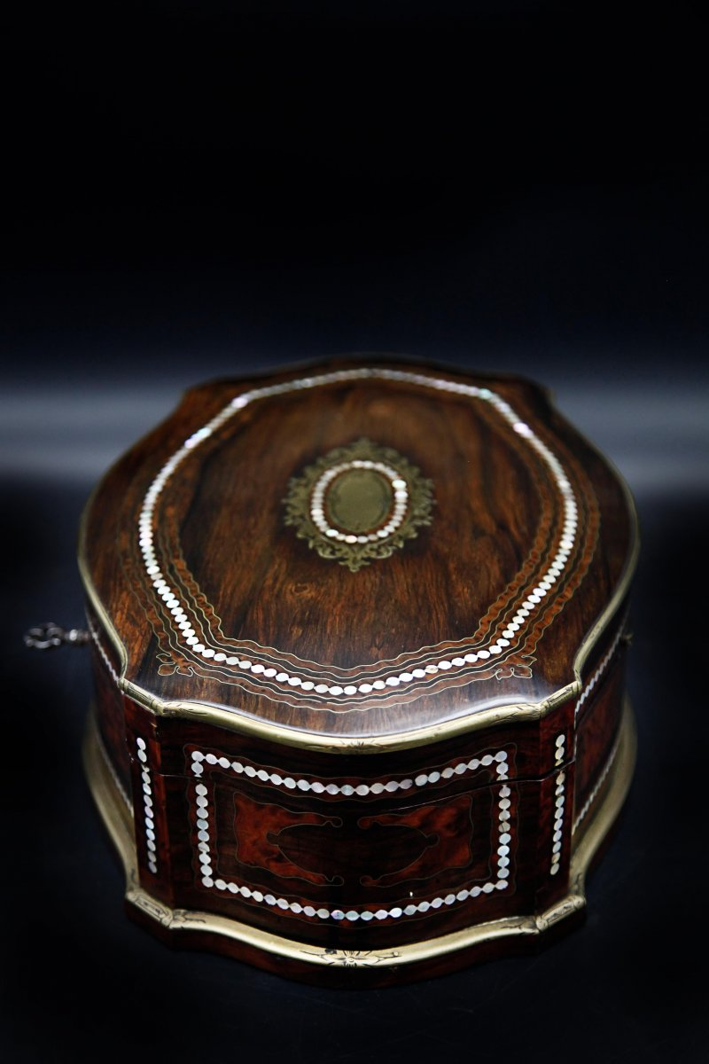Coffret Boite A Bijoux Napoléon III-photo-4