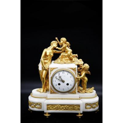 Napoleon III Clock - Venus Aux Anges