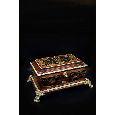 Large Napoleon III Jewelry Box