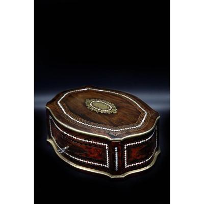Coffret Boite A Bijoux Napoléon III