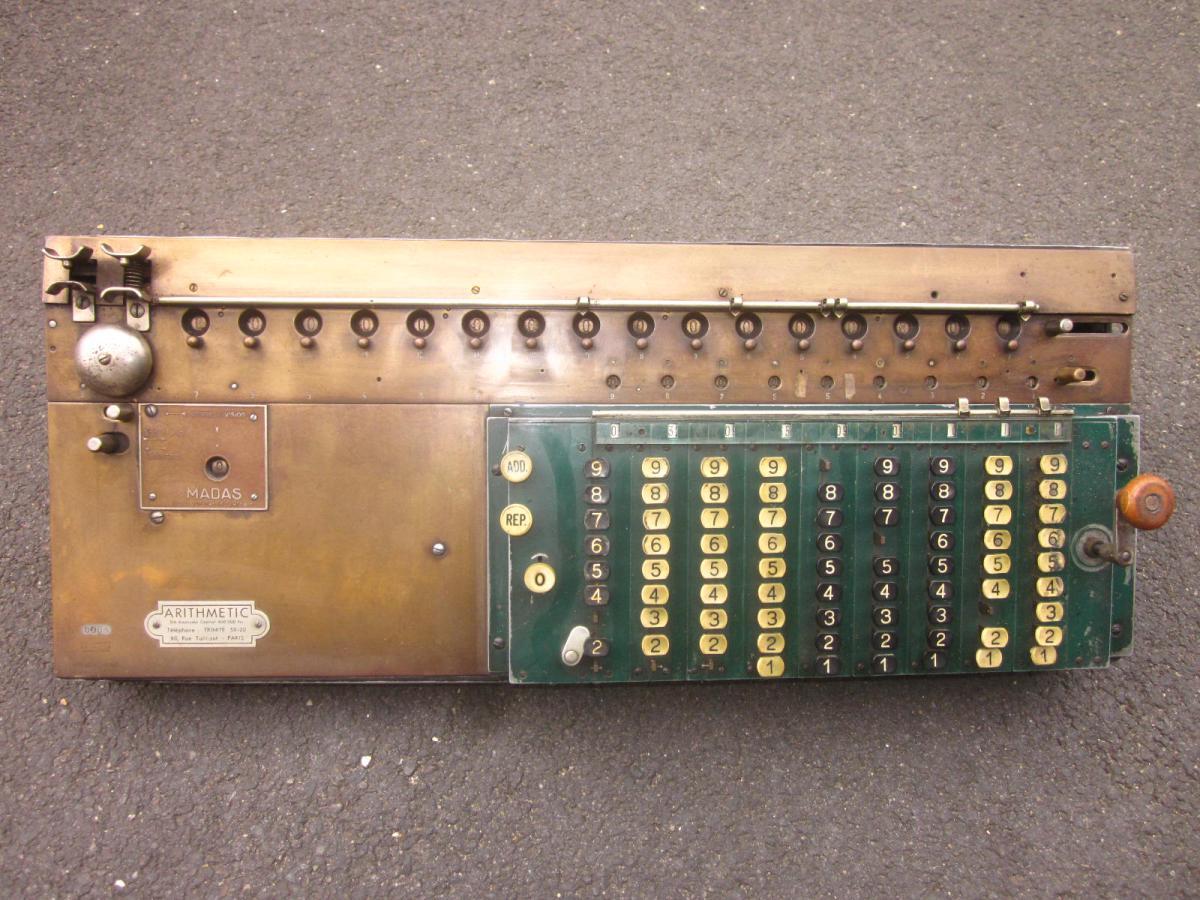 Calculate Machine Madas