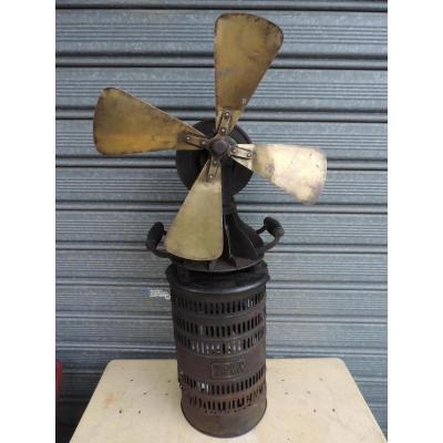 Moteur à Air Chaud ( Stirling ) Formant Ventilateur
