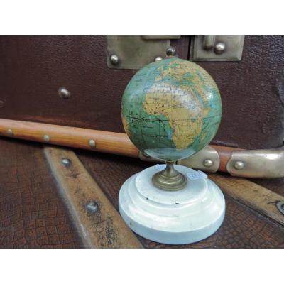 Petit Globe Terrestre Fin XIX