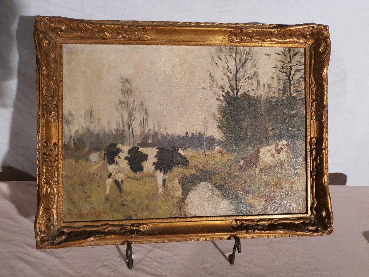 Tableau Vaches René De Baugnies