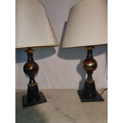 Pair Of Lamps 1950s, The Dolphin.