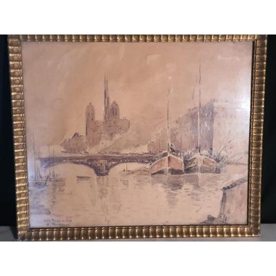 Tableau Notre Dame De Paris Adrien Hamon
