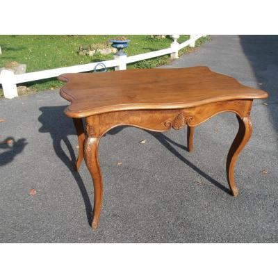 Table Rectangulaire De Style Louis XV