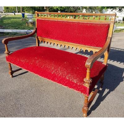 Petit Canapé De Style Henri II