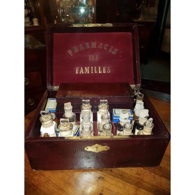 """""""pharmacie Des Familles"""" Around 1860."""