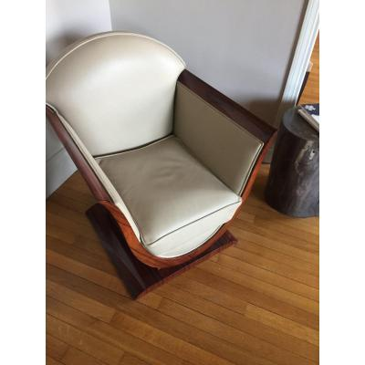 Two Armchairs Tulips Rosewood