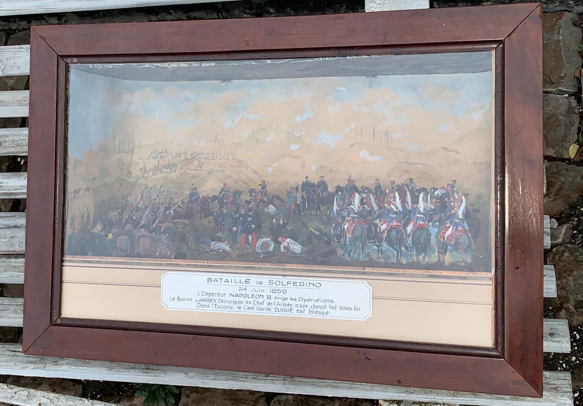 Diorama Of The Battle Of Solferino