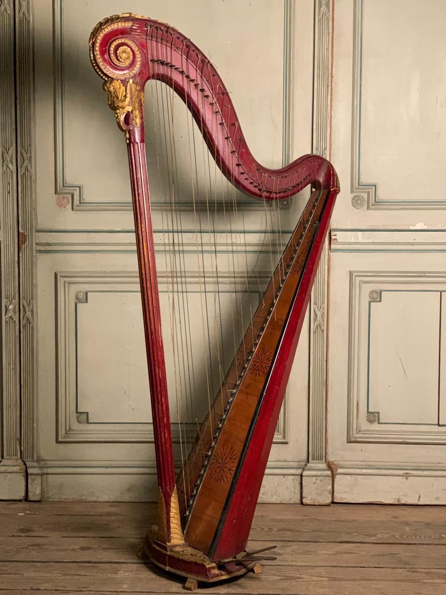 Harpe XVIIIème Siècle