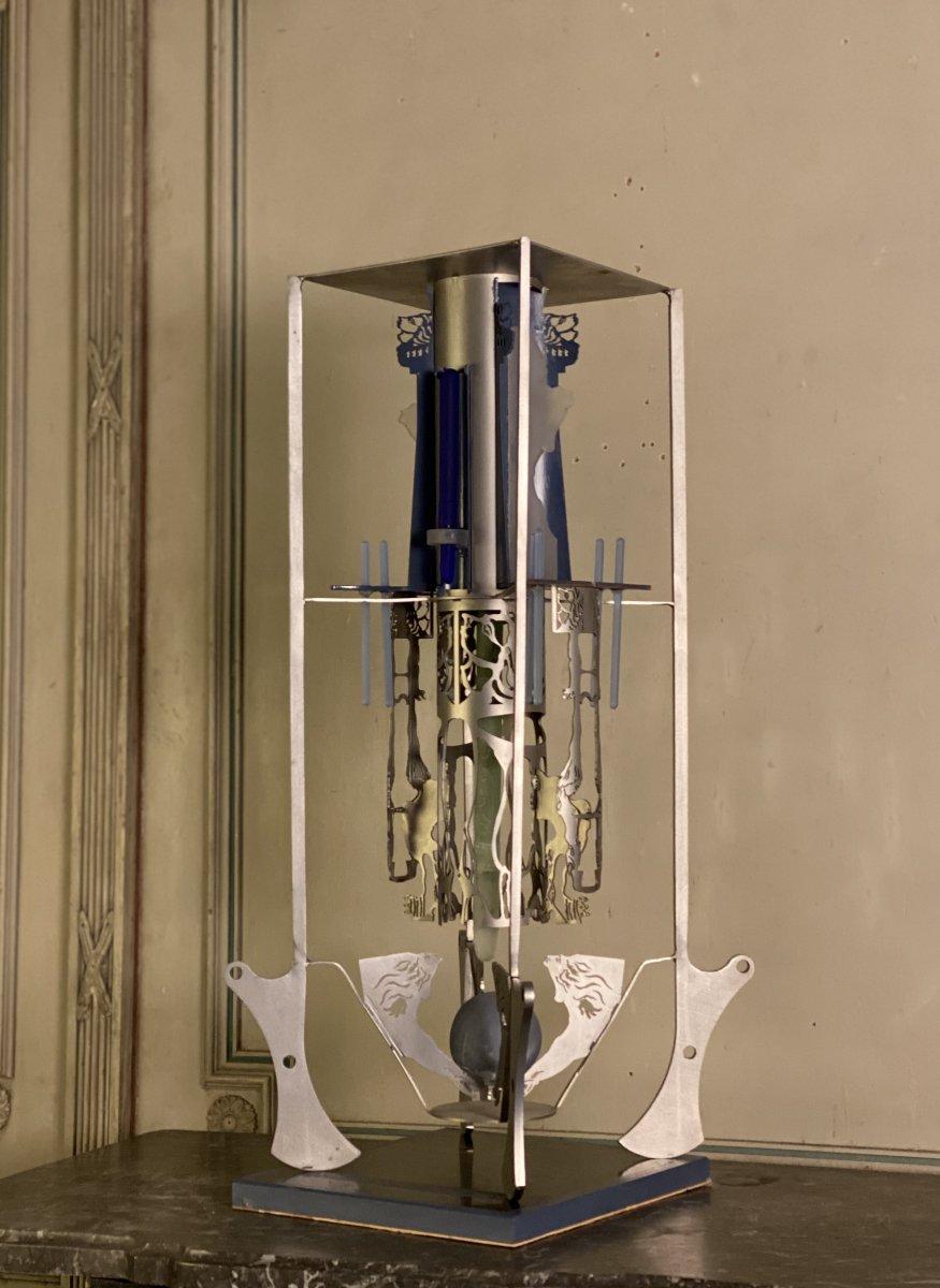 Maquette Projet Pour Une Sculpture Monumentale, Edward Leibovitz
