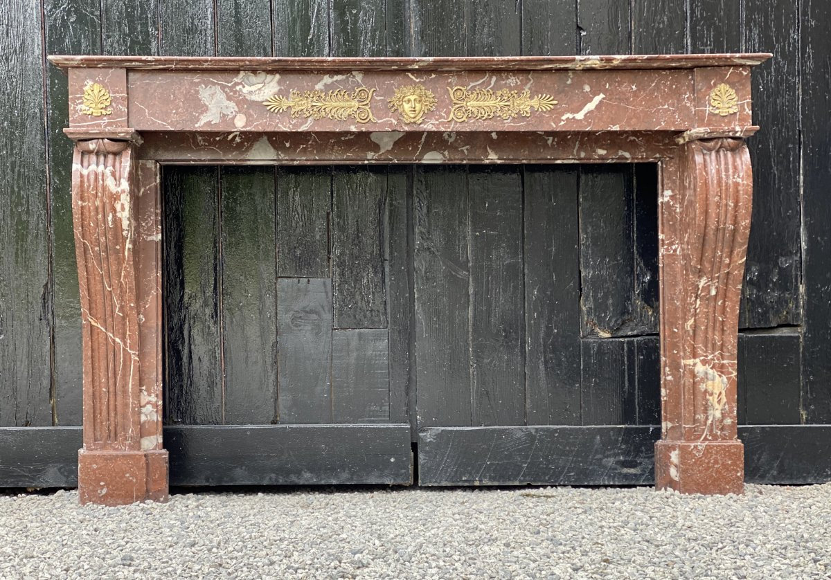Cheminée En Marbre De Rance, Louis-philippe