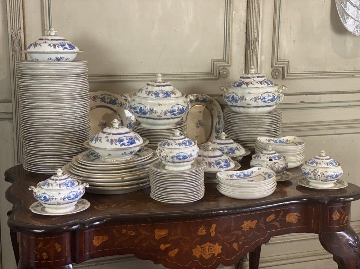Service De Table En Faïence, 155 Pièces, Waring And Gillows, London