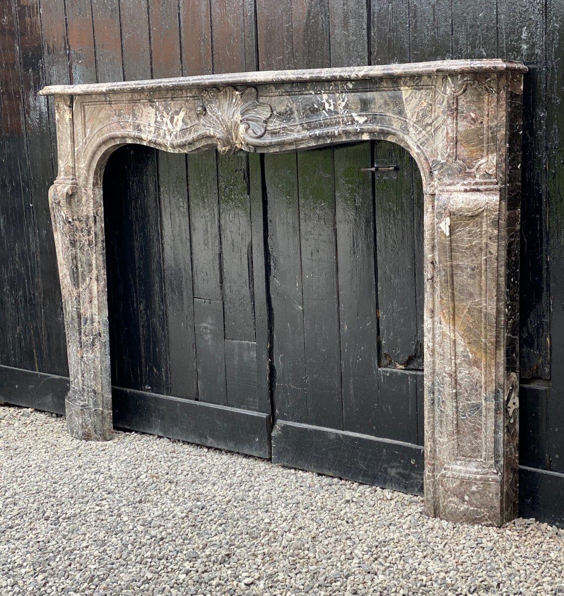 Cheminée Louis XV En Marbre De Waulsort