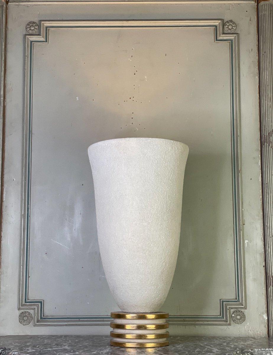 Lampe En Grès Art Déco Vers 1940